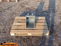 Ковш траншейный 30 см к мини экскаватору JCB/CAT/Kubota